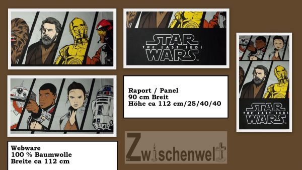 Webware Star Wars Panel / Raport ca 90 cm